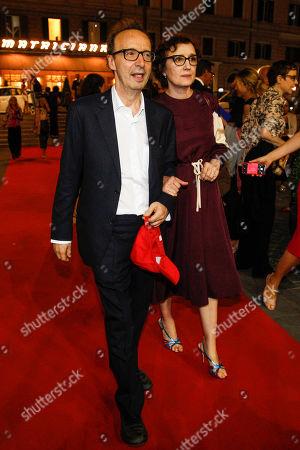 Roberto Benigni and wife Nicoletta Braschi