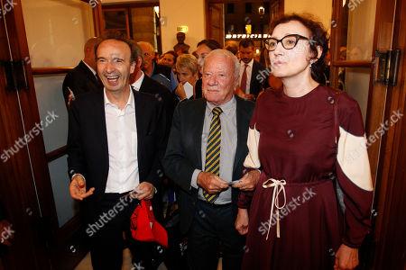 Roberto Benigni, Achille Bonito Oliva, Nicoletta Braschi.