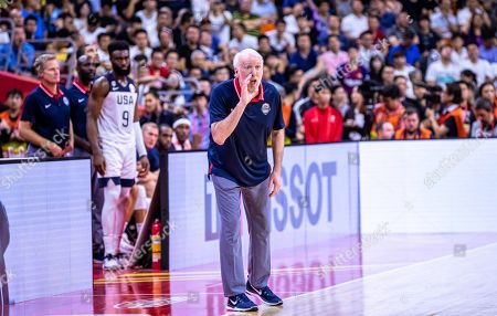 Editorial photo of FIBA Basketball World Cup 2019, Dongguan, China - 11 Sep 2019