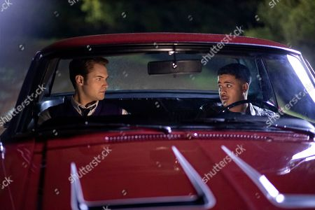 Stock Picture of Justin Prentice as Bryce Walker and Christian Navarro as Tony Padilla