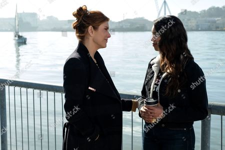 Kate Walsh as Olivia Baker and Alisha Boe as Jessica Davis