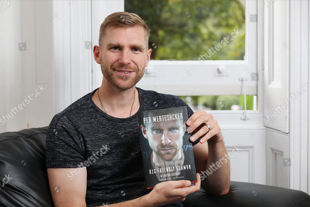 Former Germany international and Arsenal player Per Mertesacker at the Book Launch for 'The Big Friendly German' at Torrington Hall on 10th September 2019