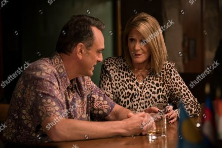 Hank Azaria as Jim Brockmire and Linda Lavin as Lorraine