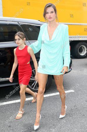 Alessandra Ambrosio and Anja Louise Mazur