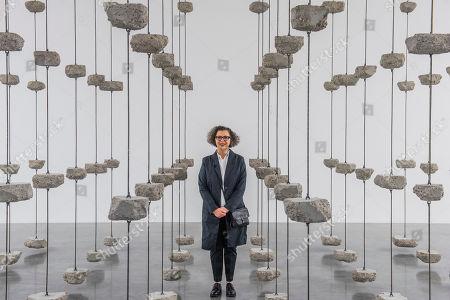 Artist Mona Hatoum, Remains to be Seen, 2019