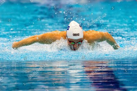 Jessica Long of the USA competes in the women's 100m Butterfly S8 heats during the World Para Swimming Championships at the London Aquatics Centre in London, Britain, 11 September 2019. The event is the largest Para Swimming championships outside of the Paralympic Games and will see around 600 swimmers from approximately 60 countries compete.