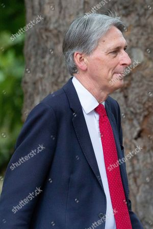 MP for Runnymede Philip Hammond walks in St James?s Park.