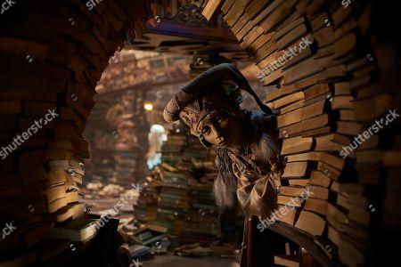 Stock Picture of Librarian (Toby Jones)
