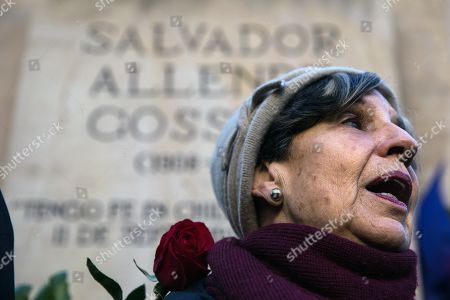 Editorial picture of 46th anniversary of the Coup d'etat by Augusto Pinochet, Santiago, Chile - 11 Sep 2019