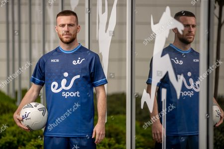 Wes Brown, Emile Heskey, Jack Byrne and Shane Supple were at the Sport Ireland Campus today to help launch a new season of action on the eir sport pack. eir sport viewers can watch every game in the UEFA Champions League and UEFA Europa League plus UEFA Euro 2020 Qualifiers on Virgin Media Sport, which is now part of the eir sport pack, as well as live FA Cup games, SSE Airtricity League games & the Republic of Ireland's U21 Home Qualifiers. Pictured is Jack Byrne