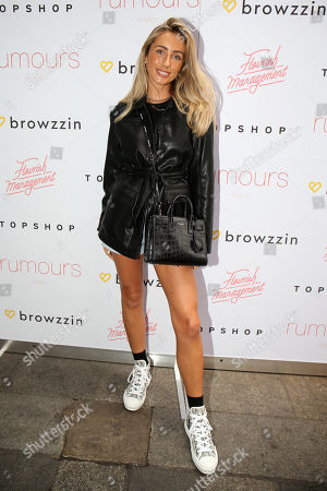 Editorial picture of London Fashion Week Influencer Event, Arrivals, Rumours, Mayfair, London, UK - 11 Sep 2019
