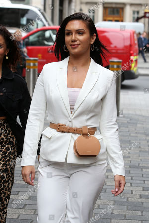 Editorial image of London Fashion Week Influencer Event, Arrivals, Rumours, Mayfair, London, UK - 11 Sep 2019