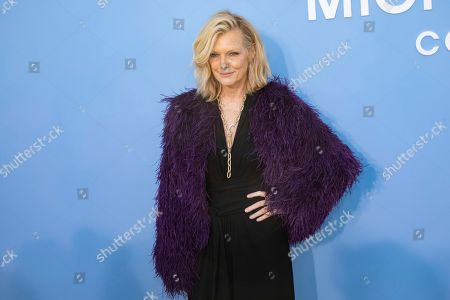 Patti Hansen attends the Michael Kors runway show at Duggal Greenhouse during NYFW Spring/Summer 2020, in Brooklyn, New York