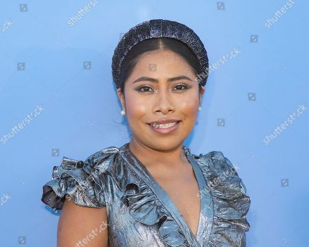 Yalitza Aparicio attends the Michael Kors runway show at Duggal Greenhouse during NYFW Spring/Summer 2020, in Brooklyn, New York