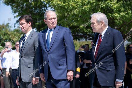 Editorial image of 9/11 Anniversary at the Pentagon in Arlington, Virginia, USA - 11 Sep 2019