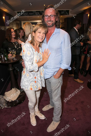 Penny Smith and Vince Leigh