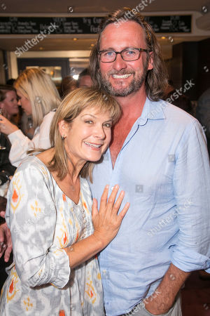 Stock Image of Penny Smith and Vince Leigh