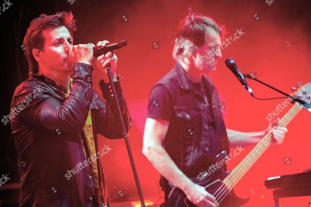 Stock Picture of Our Lady Peace - Rain Maida and Duncan Coutts