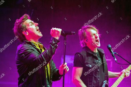 Stock Photo of Our Lady Peace - Rain Maida and Duncan Coutts