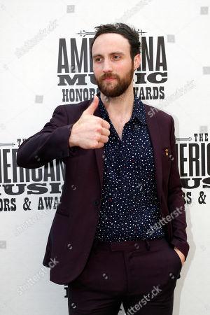 Ruston Kelly arrives at the Americana Honors & Awards show, in Nashville, Tenn