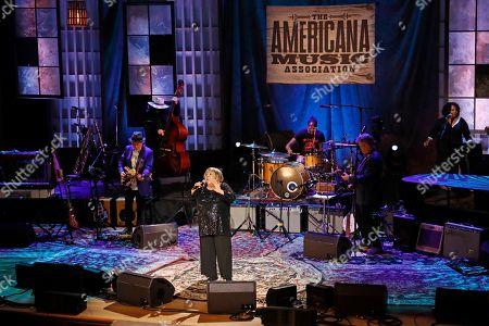 Mavis Staples performs during the Americana Honors & Awards show, in Nashville, Tenn