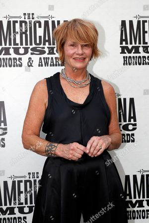 Shawn Colvin arrives at the Americana Honors & Awards show, in Nashville, Tenn