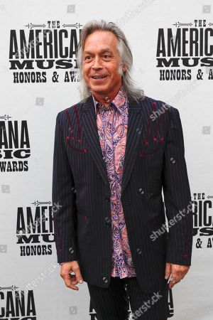 Jim Lauderdale arrives at the Americana Honors & Awards show, in Nashville, Tenn