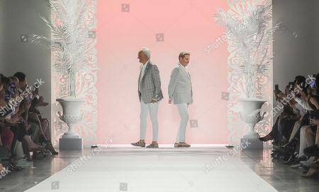 Editorial photo of Fashion Badgley Mischka, New York, USA - 11 Sep 2019