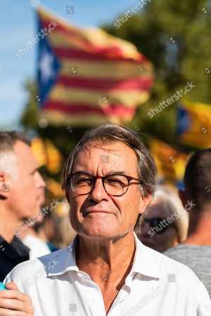 Editorial photo of National Day of Catalonia, Barcelona, Spain - 11 Sep 2019