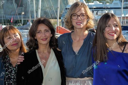Isabelle Czakja, Valerie Karsenti, Elodie Frenck and Marie Roussin