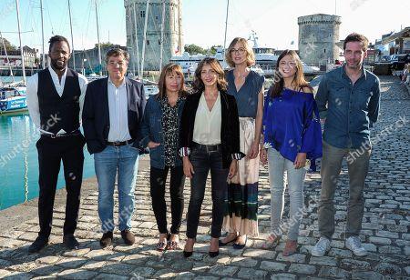 Sydney Gallonde, Francois Tron, Isabelle Czakja, Valerie Karsenti, Elodie Frenck, Marie Roussin and Alex Beaupain