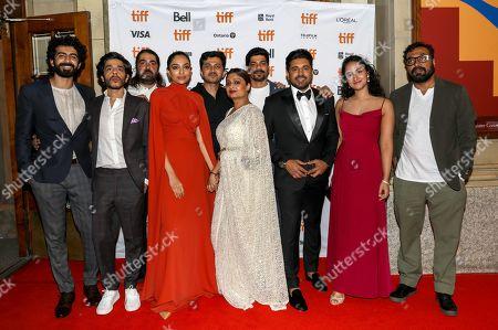 Roshan Mathew, Shashank Arora, Rif Dagher, Sobhita Dhulipala, Ajay Rai, Geetu Mohandas, Vinod Kumar, Nivin Pauly, Melissa Raju Thomas and Anurag Kashyap