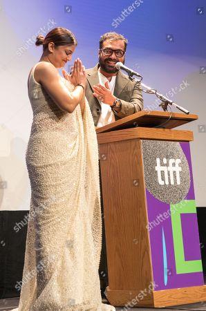 Geetu Mohandas and Anurag Kashyap
