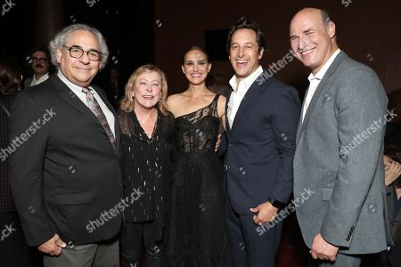 Steve Gilula, Nancy Utley, Natalie Portman, David Greenbaum and Matthew Greenfield