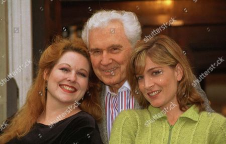 Singer John Raitt Presents A Musical Retrospective John Raitt - Broadway Legend He Is Pictured With Catherine Porter And Kim Criswell.