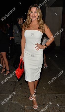 Sam Faiers leaving Park Chinois restaurant
