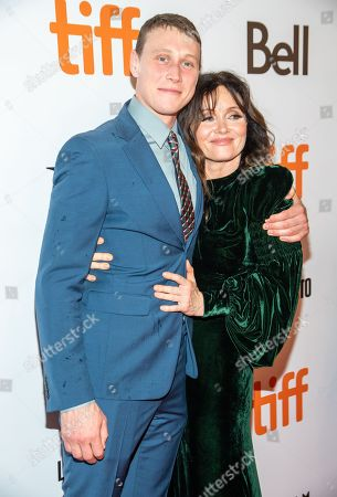 George MacKay and Essie Davis