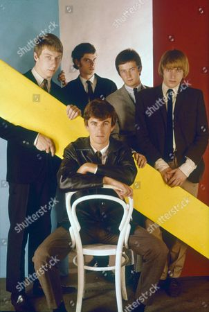 The Yardbirds -  Chris Dreja, Paul Samwell-Smith, Eric Clapton, Keith Relf and Jim McCarty