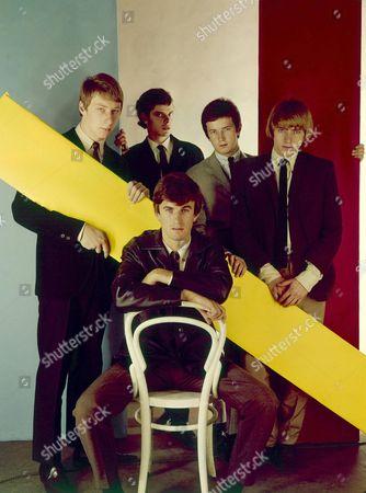 The Yardbirds -  Keith Relf,  Eric Clapton, Paul Samwell-Smith, Chris Dreja and Jim McCarty