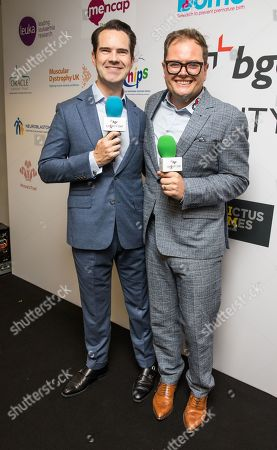 Jimmy Carr and Alan Carr