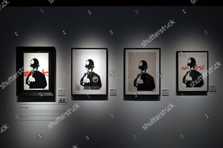 Editorial photo of Media preview of The Art Of Banksy in Sydney, Australia - 12 Sep 2019