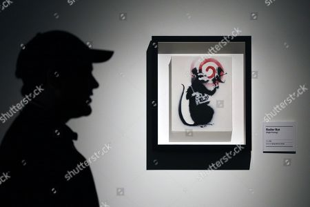 Editorial image of Media preview of The Art Of Banksy in Sydney, Australia - 12 Sep 2019