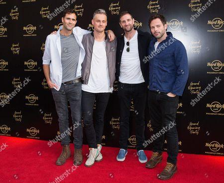 Keane - Tim Rice-Oxley, Tom Chaplin, Richard Hughes, Jesse Quinn
