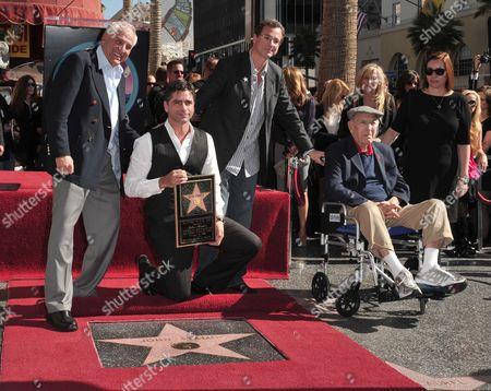 Garry Marshall, John Stamos, Bob Saget and Jack Klugman