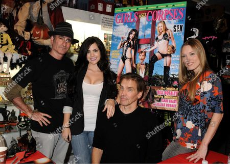 Editorial image of 'Girls & Corpses' Magazine Signing at The Dark Delicacies Store, Burbank, CA - 15 Nov 2009