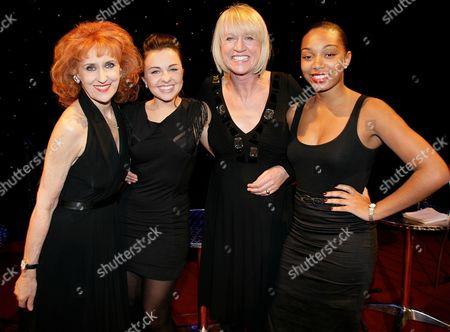 Anita Dobson, Louisa Lytton, Sally Taylor and Zaraah Abrahams