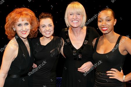 Anita Dobson, Louisa Lytton, Sally Taylor and Zaraah Abrahams