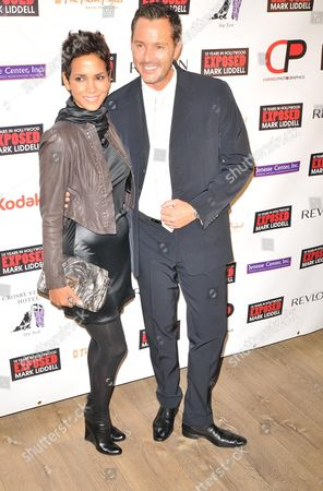 Stock Image of Halle Berry and Mark Liddell