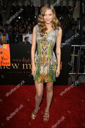 Editorial image of 'The Twilight Saga: New Moon' Film Premiere, Los Angeles, America - 16 Nov 2009