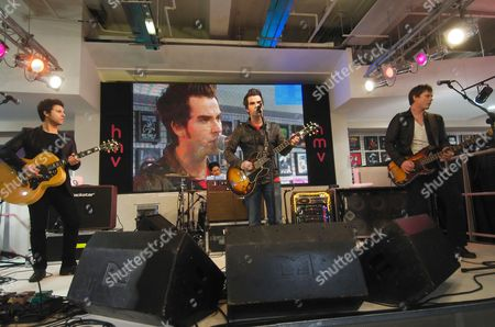 The Stereophonics - Adam Zindani, Javier Weyler, Kelly Jones and Richard Jones